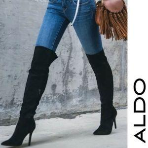 Sexy Sassy Stretch OTK Aldo Boots